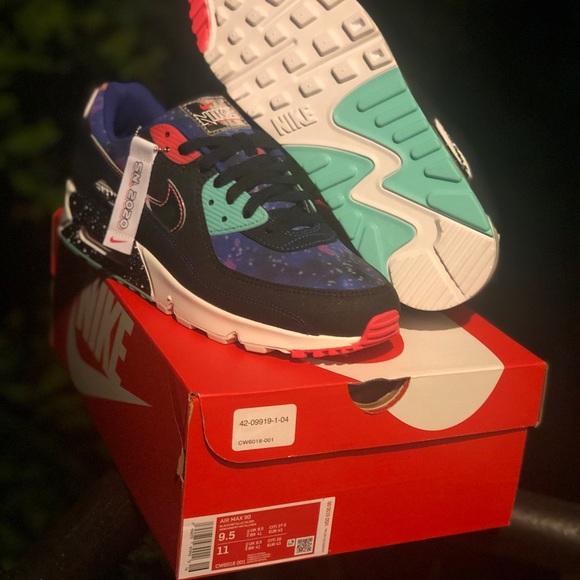 Nike Shoes Airmax 90 Supernova Galaxy 2020 Poshmark